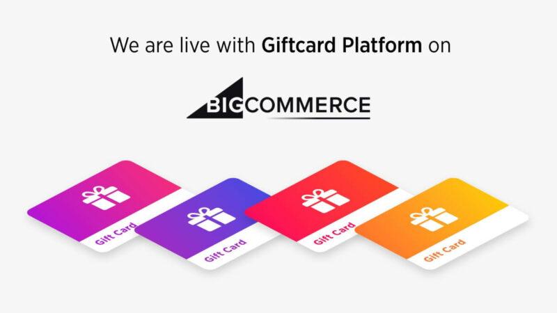 99minds GiftCard Platform Live on BigCommrce
