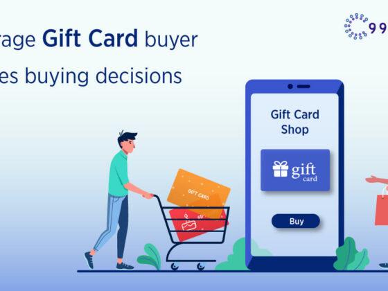 Gift card buying behaviour