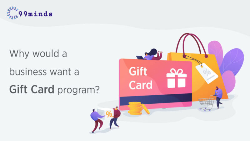Why would a business want a gift card program